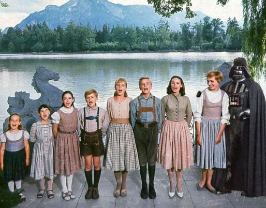 Darth Vader dans The Sound of Music
