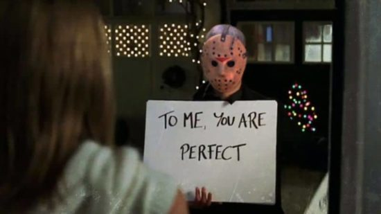 Jason Vorhees in Love Actually