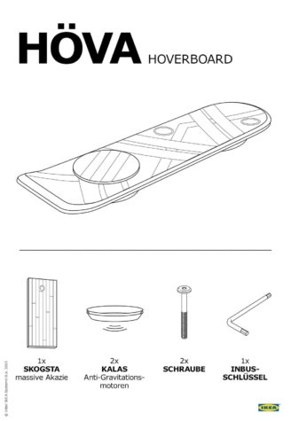 IKEA: Hoverboard Nouvelle-