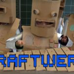 "Singing and playing Kids ""The robots"" Kraftwerk"