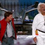 """2015 es bastante mierda"": Marty McFly y Doc Brown conducido por Jimmy Kimmel"