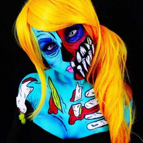 Monsterliche Bodypaintings