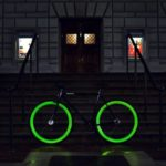Pure Fix Cycles: Photoluminescent by bike in road traffic