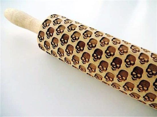 Teigroller for gruslig beautiful skull-crackers