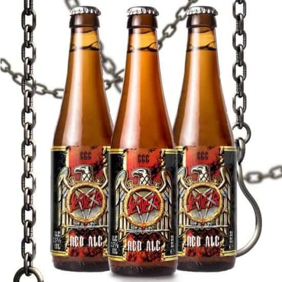 666 Red Ale: Slayer-Bier ist tiefrot und malzig