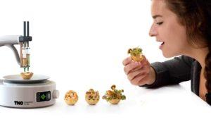 Snacks aus dem 3D-Drucker