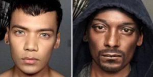 Sich zu Snoop Dogg schminken