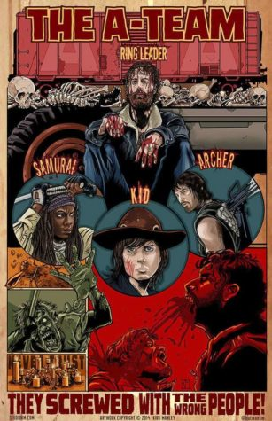 The Walking Dead Serietidningar Fan Art