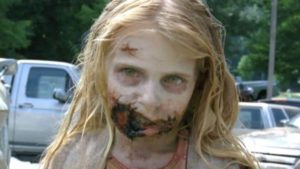 The Walking Dead: So the children Zombie looks today