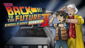 """Wie """"Zurück in die Zukunft II"""" skulle börja"""