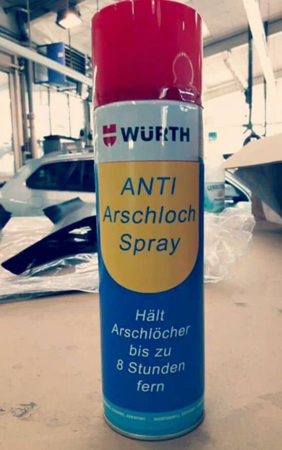 Anti-røvhul-Spray