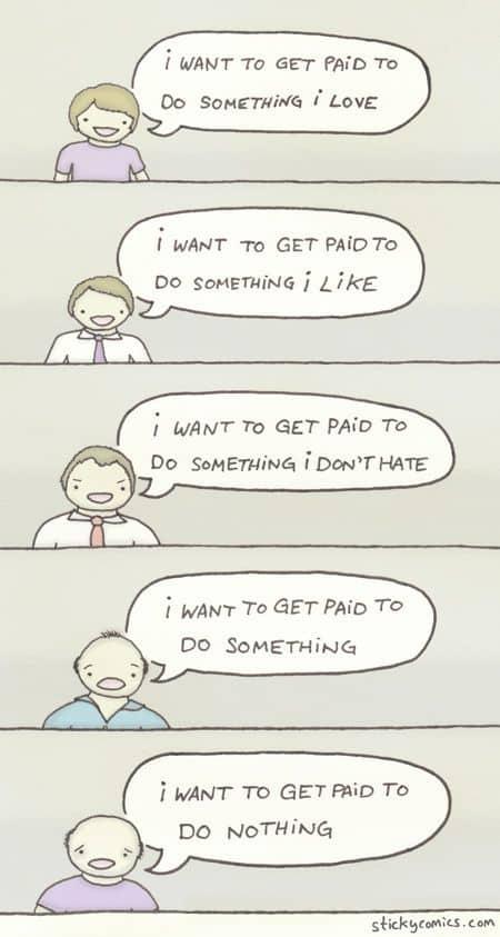 Wofür ich bezahlt werden möchte...