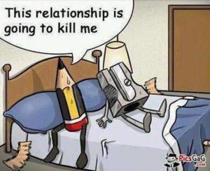 Beziehungen können anstrengend sein
