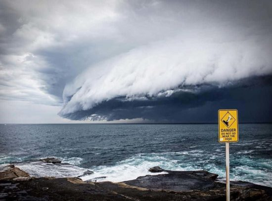 Cloud tsunami Sydney