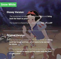 ¿Cómo realmente terminar Disney cuento