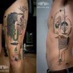 Expanded Eye: Abstrakte Kunst als Tattoo