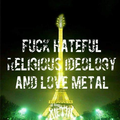 Baiser haineux religieuse Ideologie!