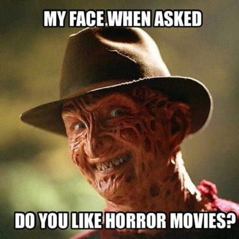 My face when someone asks me, whether I like horror movies