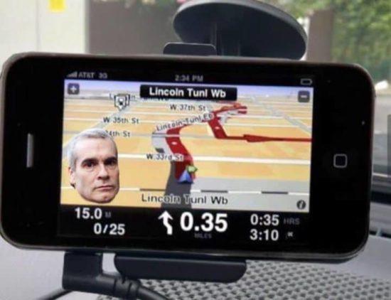 Henry Rollins GPS-App