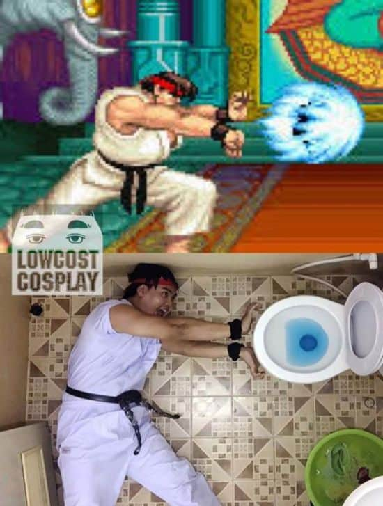 Low Cost Cosplay: About this cheap costumes laughs the network