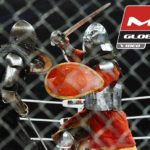 M-1 Medieval: Two medieval knights fighting in the ring