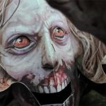 "Bloodthirsty pop-up book ""The Walking Dead"""