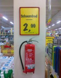 The other day in the supermarket