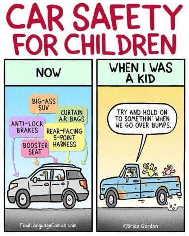 Safety for Children in Cars: Then and Now