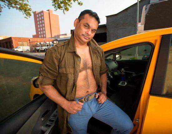 Sexy taxi driver Calendar 2016