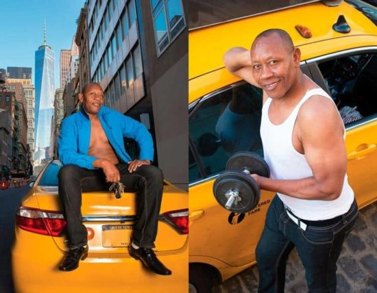 Taxis Sexy pilote Calendrier 2016