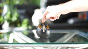 Heads: övervakningskamera, som ser ut som en uggla