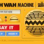 Wah wah Makinası: Fıstık yetişkinler olarak konuşan