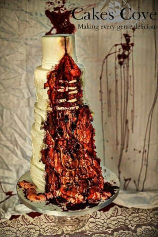 Zombie Wedding Cake Takes Your Guests Appetite Dravens Tales From