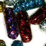 For a cheerfully colorful sparkling defecation: GlitterPills