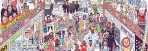 Here's to 2015: Das Jahr 2015 zusammengefasst in einer Illustration