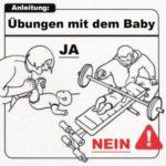 Las instrucciones para un bebé