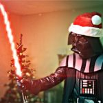 Darth de Santa destruída Natal