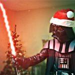 Darth Kerstman vernietigd Kerstmis