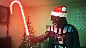 Darth Santa zerstört Weihnachten