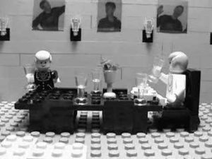 """Dinner for One"" als Lego-Version"