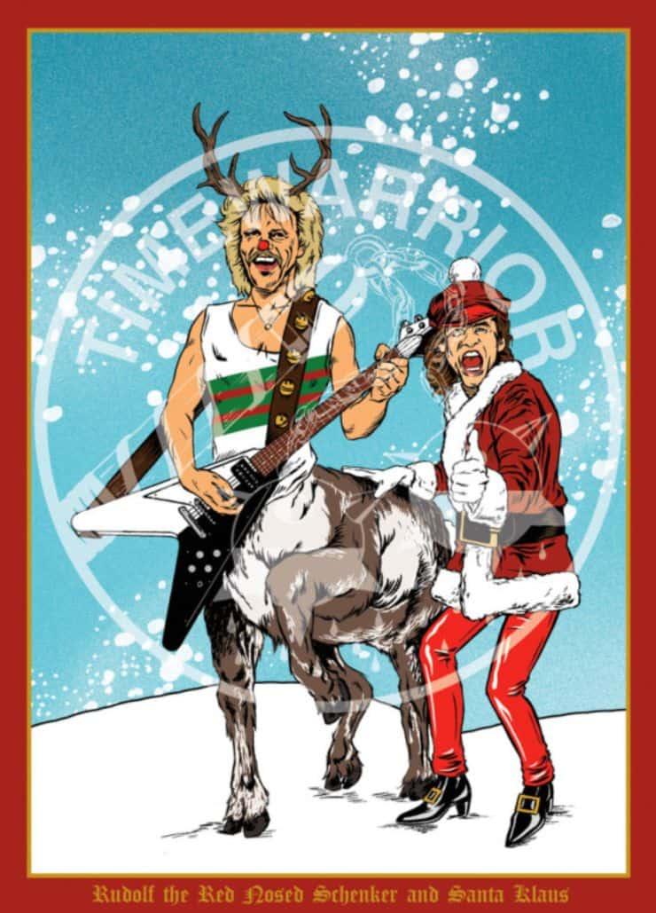 Guitar Christmas Cards