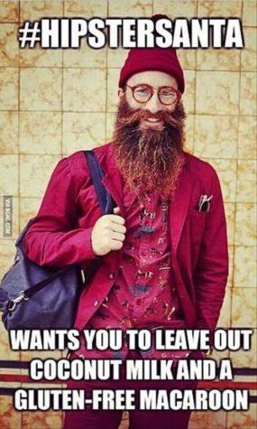 Hipster de Santa