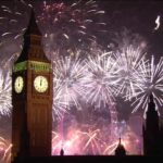 Londen New Year's Eve Fireworks