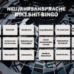 Das grosse Neujahrsansprache Bullshit Bingo