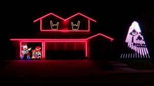 Rock The House: Slipknot Kerstverlichting