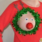 Sexy Ugly Christmas Sweater: The somewhat different Christmas sweater for ladies