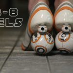 Star Wars BB-8 Wysokie obcasy