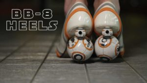 Star Wars BB-8 High Heels