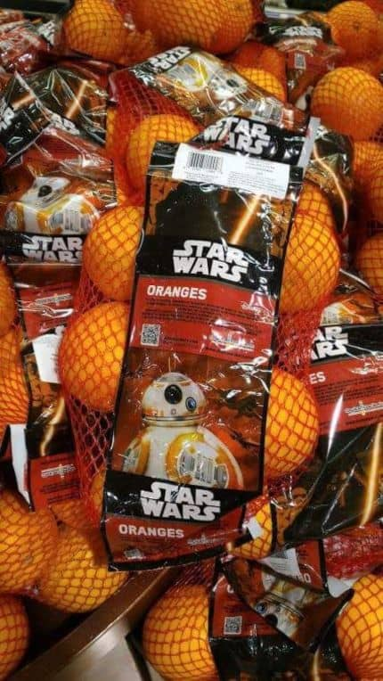 WTF do dia: Laranjas Star Wars