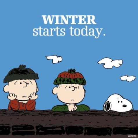 Winter starts today...